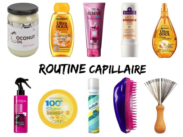 Routine capillaire : mes produitspréférés