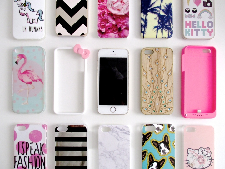 Collection de coques d'iPhone5S