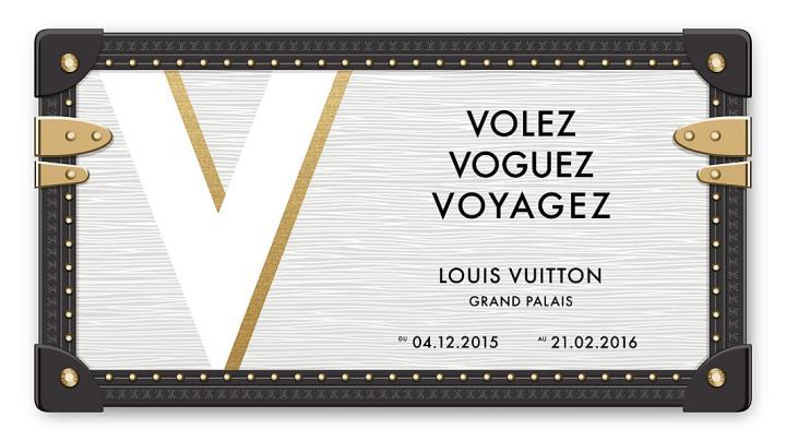 Exposition Louis Vuitton au Grand Palais : Volez, Voguez,Voyagez