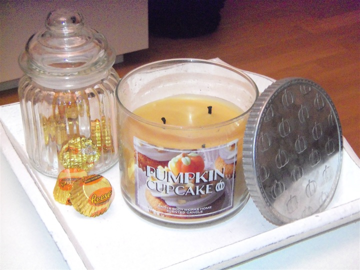 bougie pumpkin cupcake bath and body works