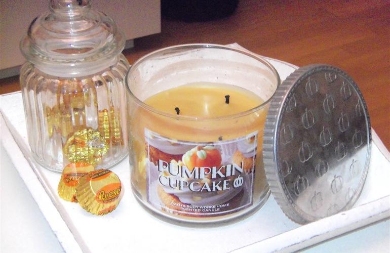 bougie pumpkin cupcake bath and body works