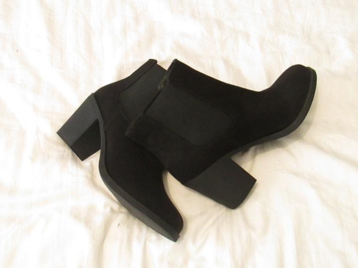 boots h&m noires
