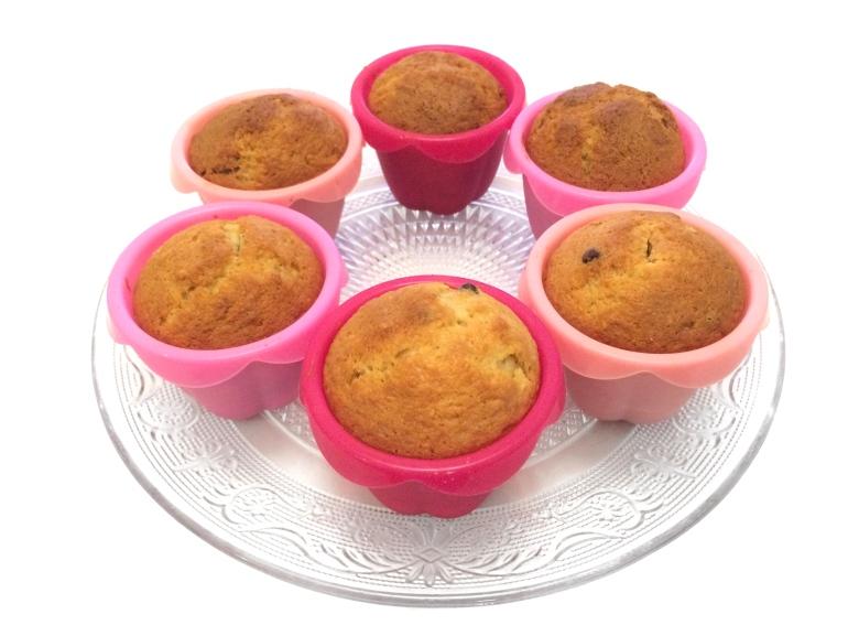 recette muffins chocolat banane noix de coco