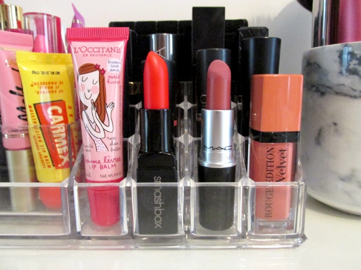 Haul lipstick : Bourjois, MAC, Smashbox, L'Occitane