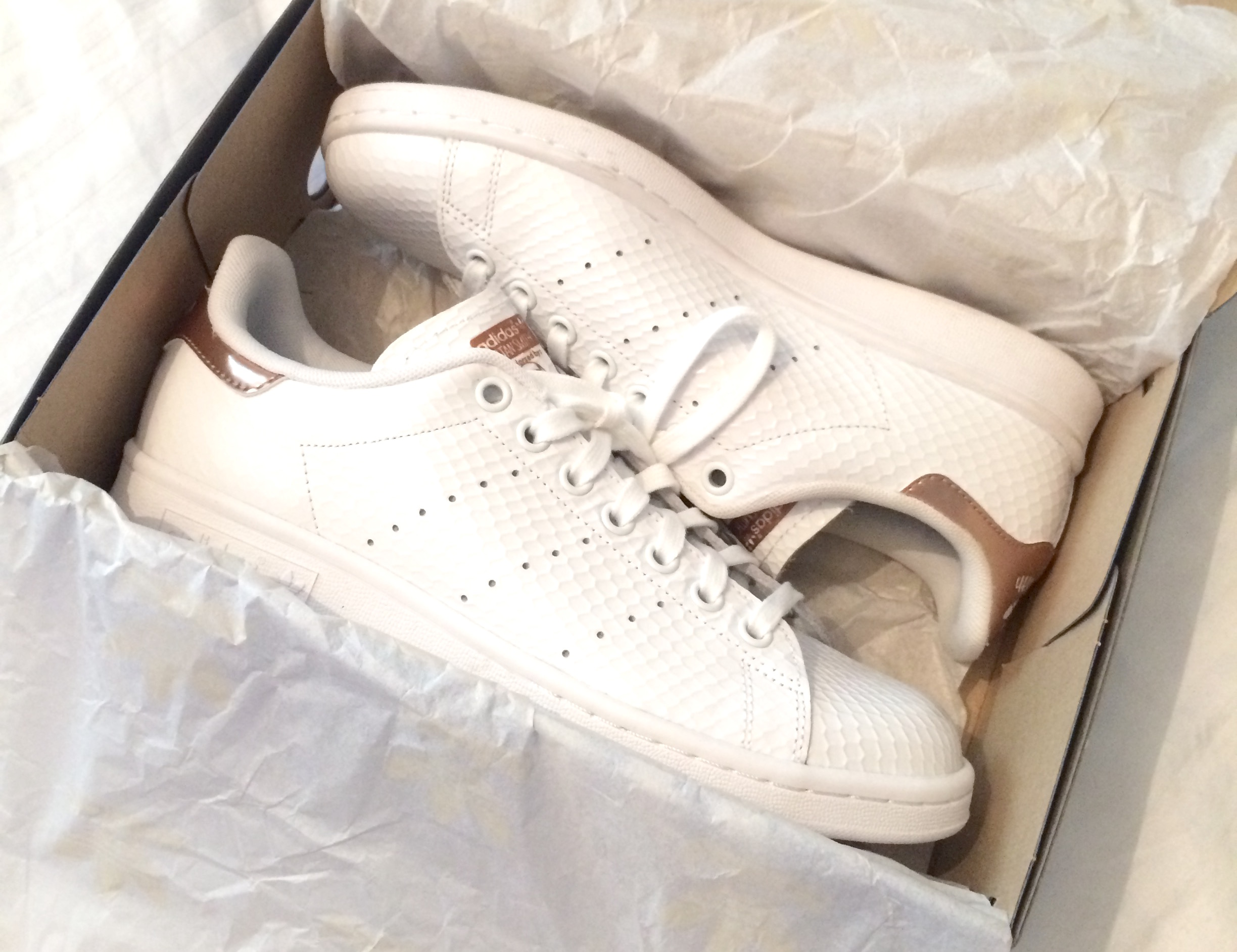 Stan Smith Adidas Rose Gold