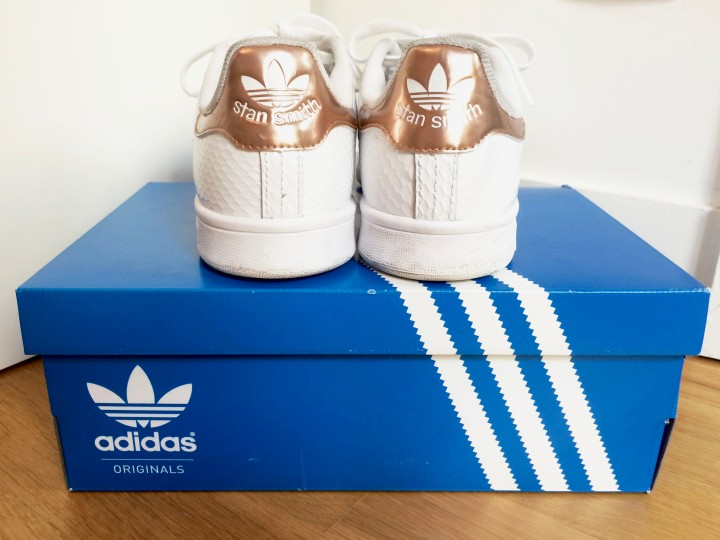 Adidas Stan Smith Gloss rose gold
