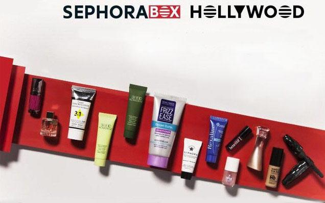 sephorabox sephora box beauté hollywood FRBOX2016