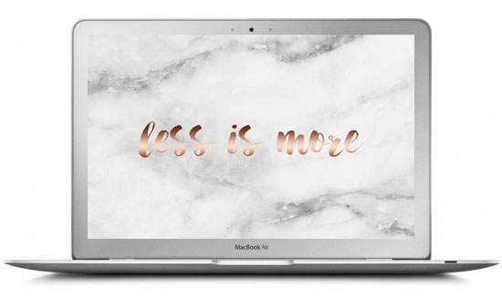 less-is-more-rose-gold-marble-computer-wallpaper