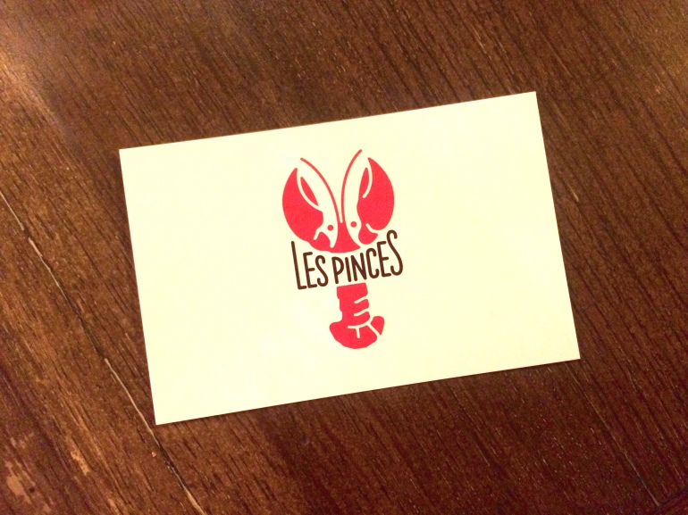 les pinces paris restaurant homard carte