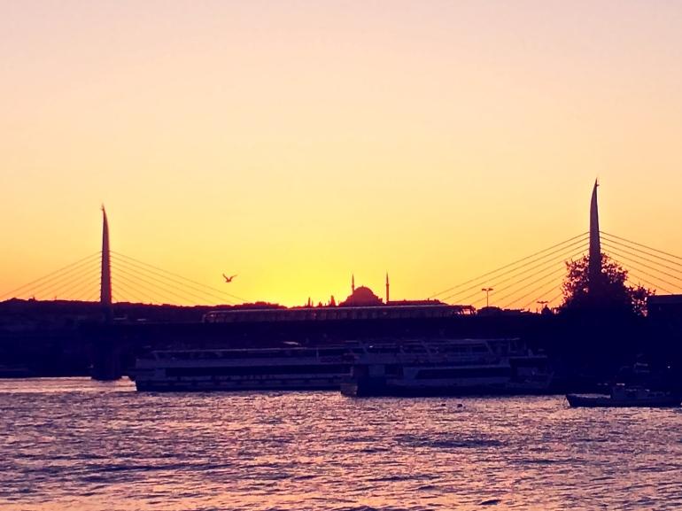 istanbul turquie turkey mosquée sunset coucher de soleil