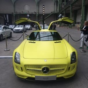 mercedes exposition voiture belles étoiles grand palais paris sls