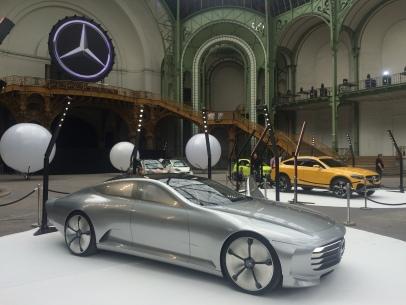 mercedes exposition voiture belles étoiles grand palais paris concept car IAA