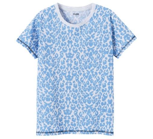 tee-shirt maje magazine glamour juillet aout 2016