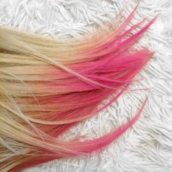 coloration semi permanente rose cheveux stargazer shocking pink