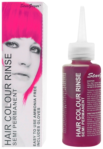 coloration semi permanente rose cheveux stargazer shocking pink