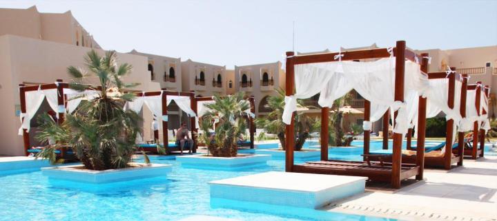 Djerba : hôtel Sensimar Palm BeachPalace