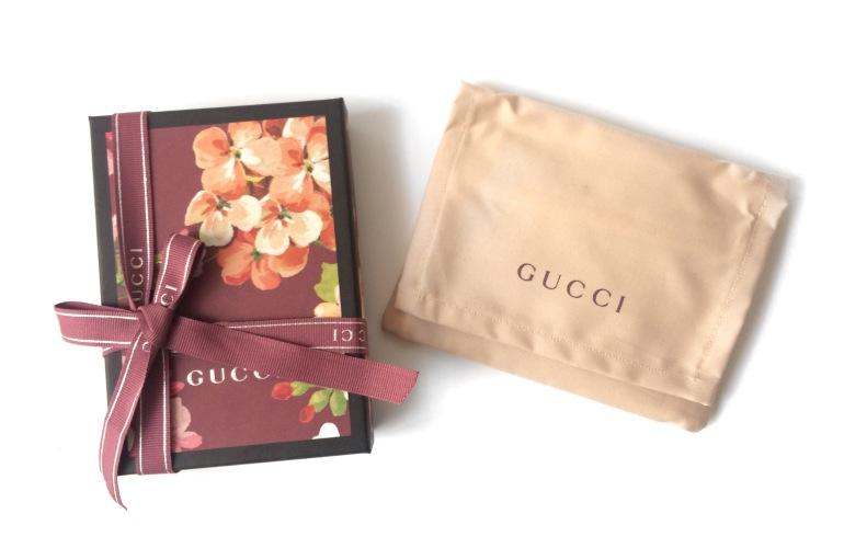 porte cartes gucci blooms 2016