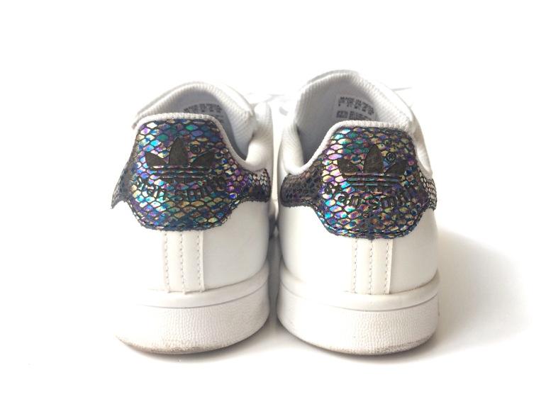 adidas stan smith snake stripe sneakers baskets enfants foot locker 2016 serpent métallique