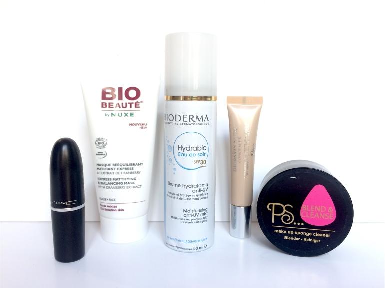 haul beauté maquillage mac nuxe bio beauté bioderma dior primark