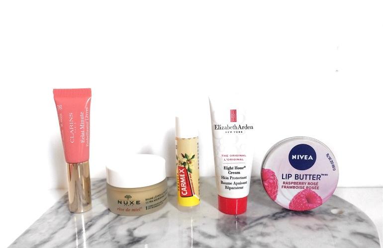 produits lèvres hydratants favoris baumes stick