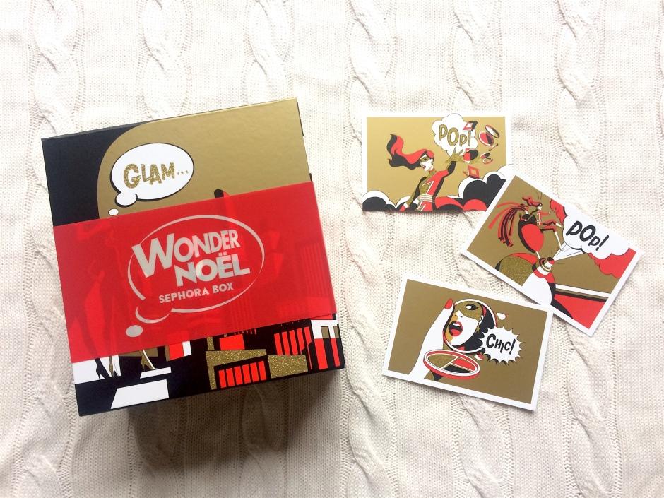 sephora box beauté wonder xmas noel 2016 contenu bon plan