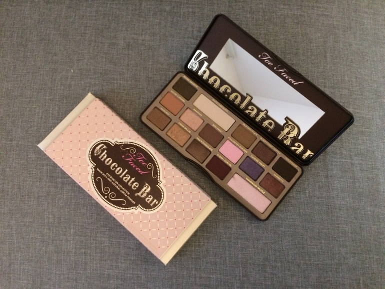 cadeaux noel 2016 maquillage sephora palette chocolate bar too faced