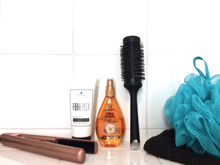 routine capillaire cheveux blonds