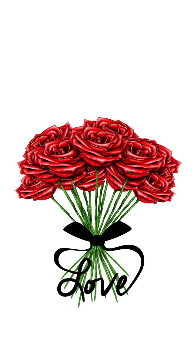 background-roses