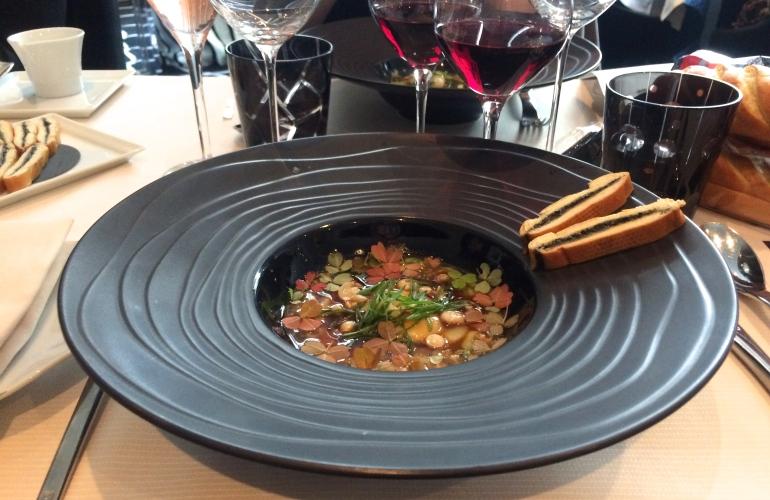 restaurant frédéric simonin paris déjeuner la boulangère entrée