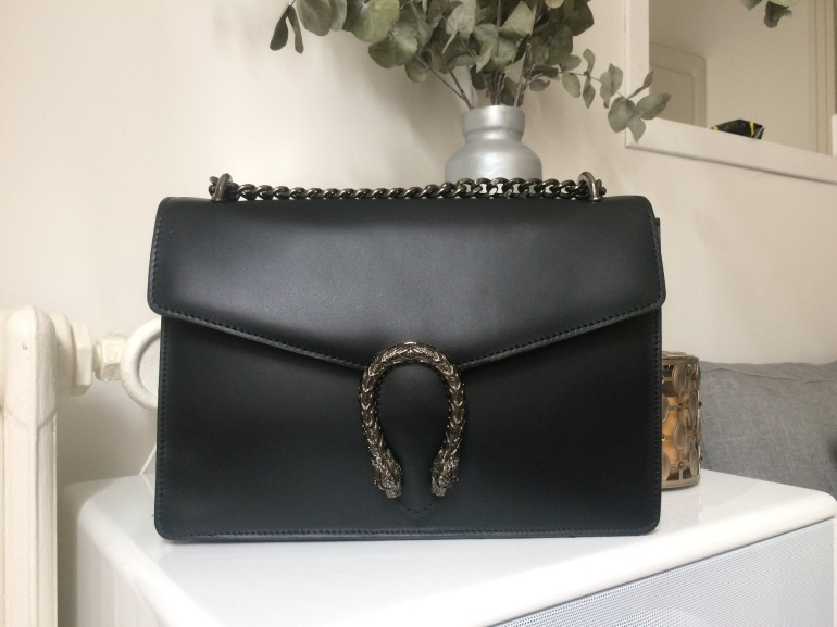 sac inspiration gucci dionysus cuir noir paris france