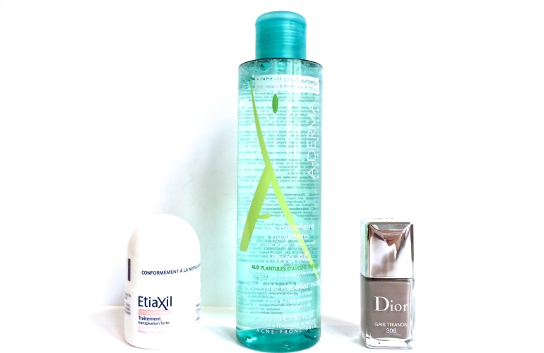 dior gris trianon vernis eau micellaire a-derma phys-ac detranspirant etiaxil