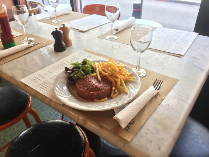 café la perle restaurant adresse paris steak tartae