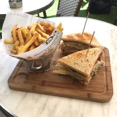 restaurant boulogne terrasse seguin club sandwich