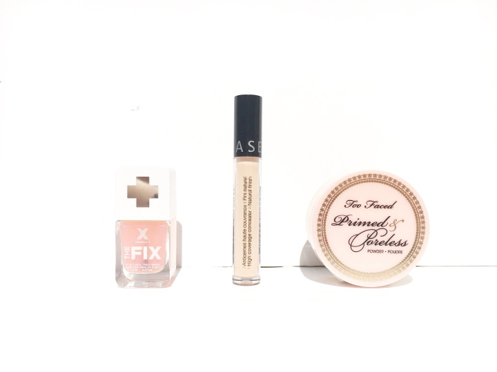 beauté haul avis too faced primed & poreless sephora anticernes the fix formula x
