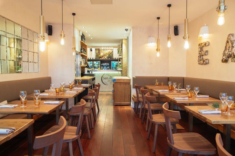 restaurant italien végétarien sense eat paris rue mazarine bonne adresse