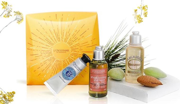 bon plan beauté coffret produits l'occitane offert
