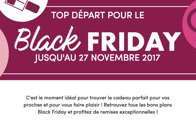 Promo Mode Friday Paris Diary Beauté Et 2017Codes Black – Chéri SzqVUpMG