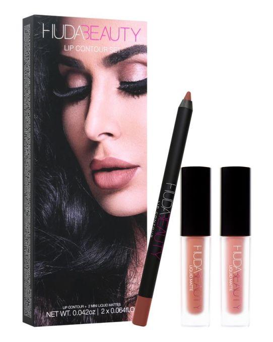 avis sephora lip contour set huda beauty liquid matte lip contour