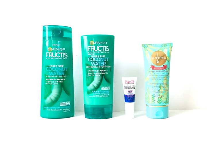 Beauty News : Fructis, FaceD & V10 Plus