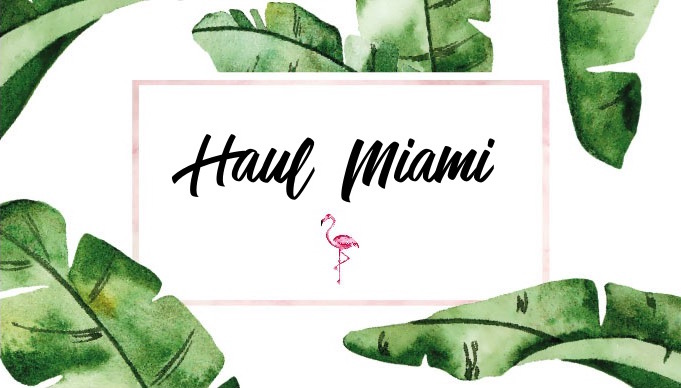 Haul – Miami : Bath & Body Works, Victoria's Secret…