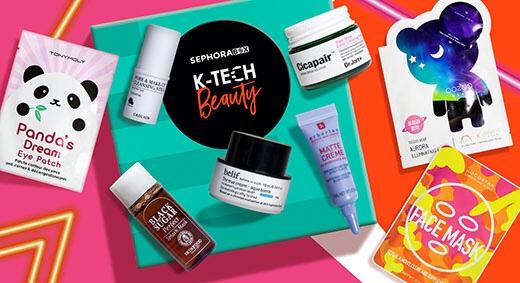 contenu sephora box avril 2018 k tech beauty produits coréens