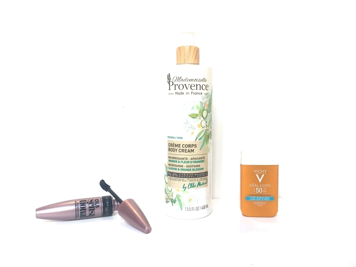 Beauty News : Maybelline, Mademoiselle Provence &Vichy