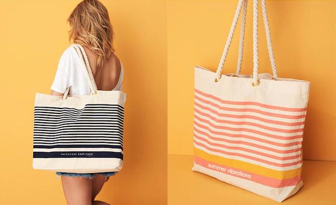 sac de plage princess tam tam cadeau magazine marie claire juillet 2018
