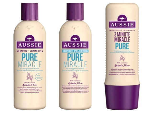 aussie pure miracle avis 2018 shampoing après-shampoing soin intensif masque