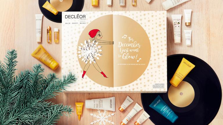calendrier de l'avent noel 2018 beauté maquillage décléor