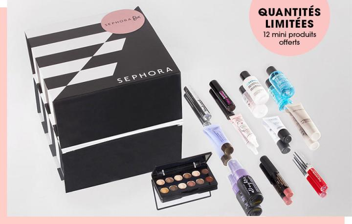 Bon plan : Sephora box 100%makeup