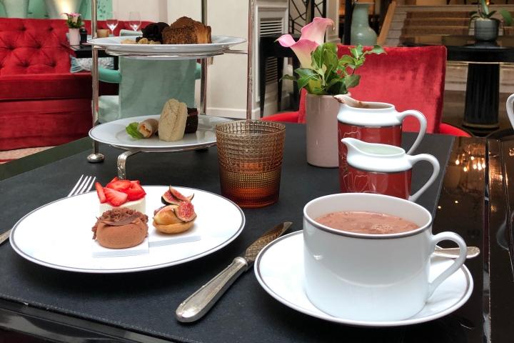Le tea time vegan du Shangri-La(3/5)