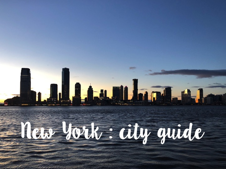 New York : restaurants, activités etshopping