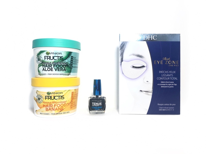 Beauty News : Fructis, DHC &Maybelline