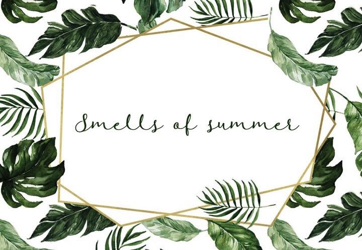 Ces produits qui sentent bonl'été